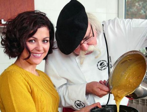 Kasia i Kurt gotują: Ciasto orzechowe