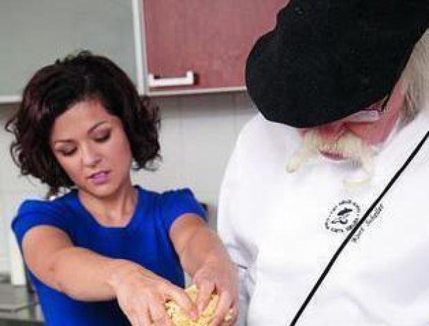 Kasia i Kurt gotują: Łosoś z krewetkami