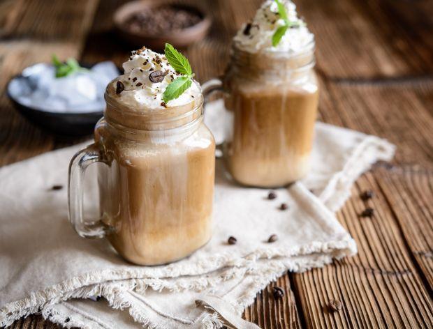 Kawa mrożona na mleku owsianym
