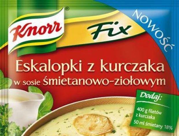 Knorr Fix Eskalopki z kurczaka w sosie