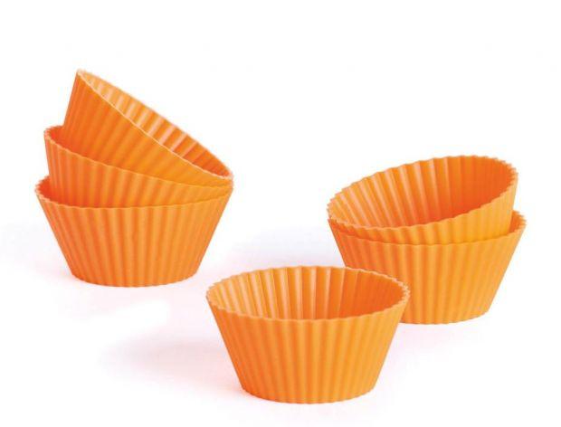 Komplet silikonowych foremek na muffinki