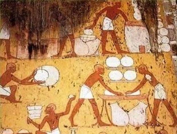 Kuchnia starożytnych Egipcjan