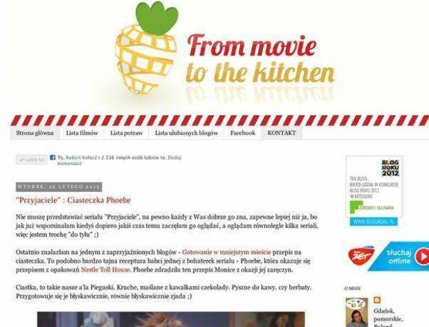 Kulinarno-filmowy blog roku 2012