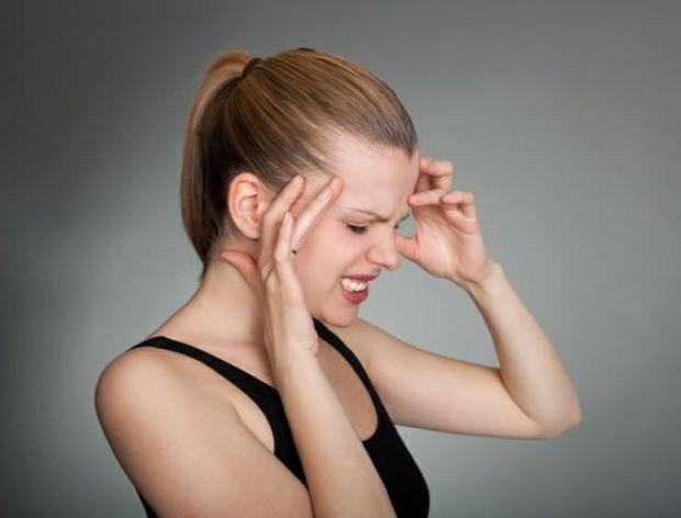 Lodowy ból głowy