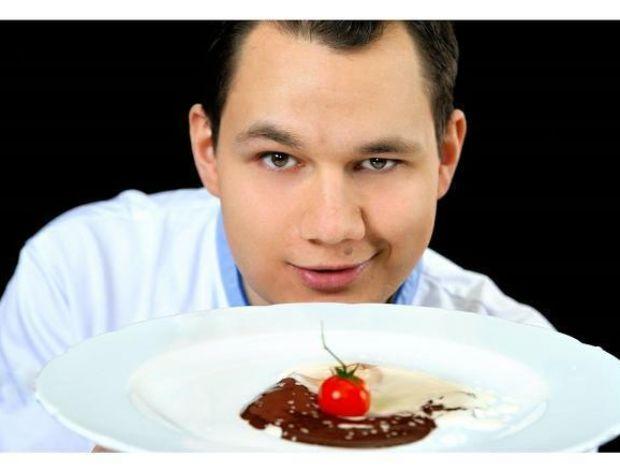 Łukasz Konik - kucharz i naukowiec