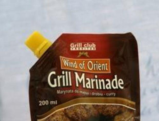 Marynata Curry na grilla
