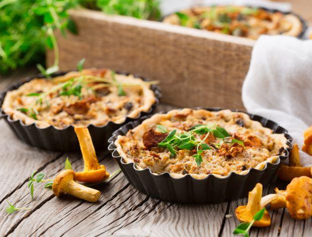 Mini tarty z kurkami