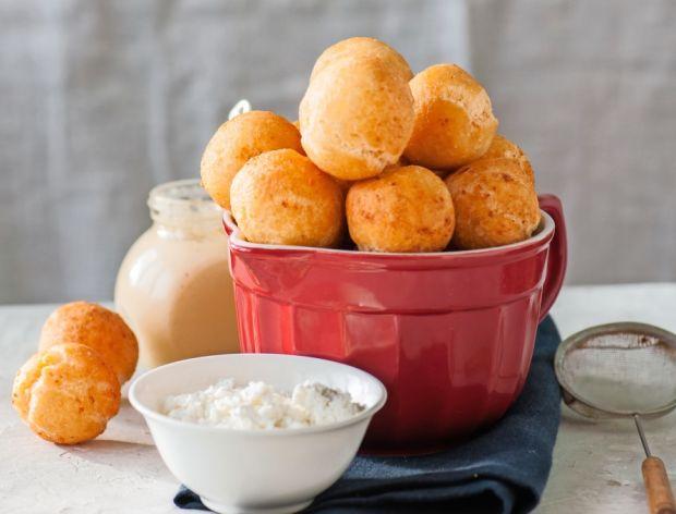 Minipączki serowe