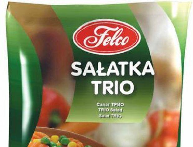 Mrożona sałatka TRIO