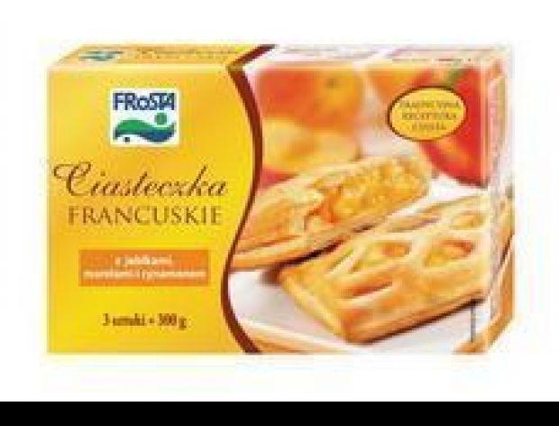 Mrożone ciasteczka francuskie