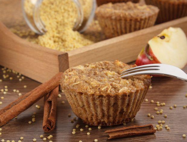 Muffinki z kaszy jaglanej