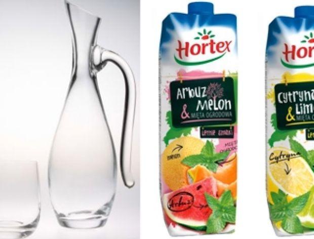 Nagroda główna - lipiec - karafka, szklanki i napoje