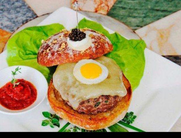 Najdroższy burger świata!