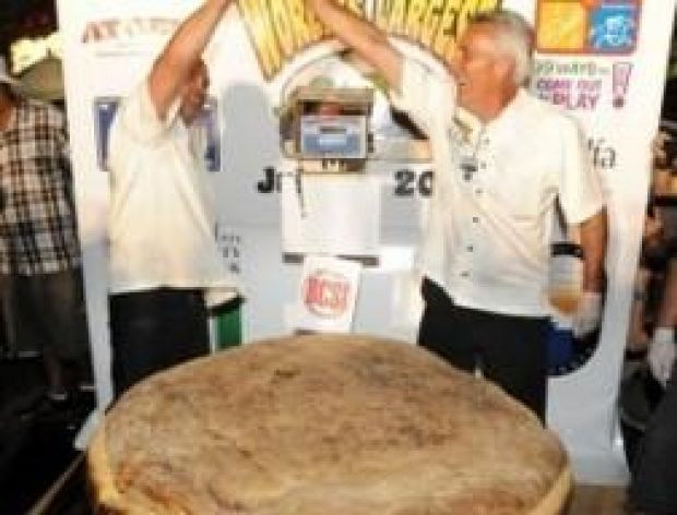 Największy hamburger świata