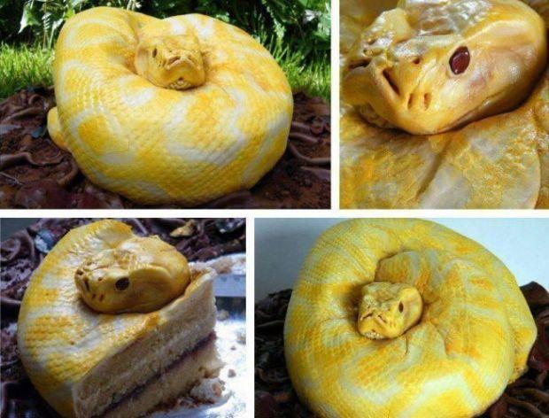 Takie niesamowitości mogą powstać z jedzenia