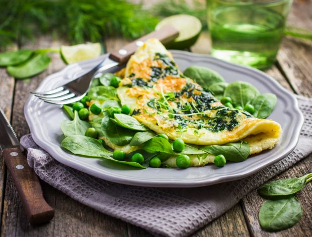 Omlet - obiad w 10 minut