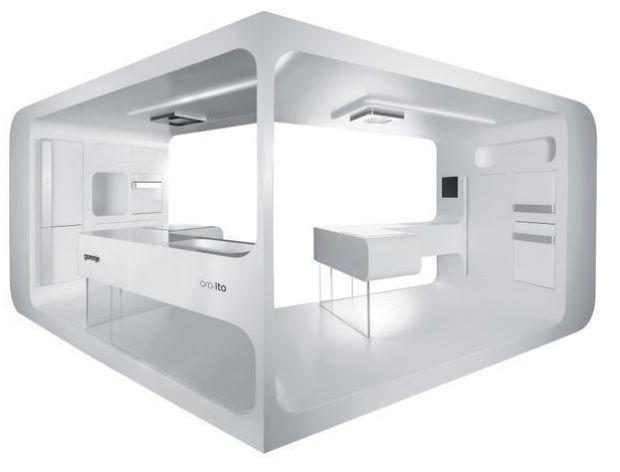 Ora-Ito White - futurystyczne białe AGD