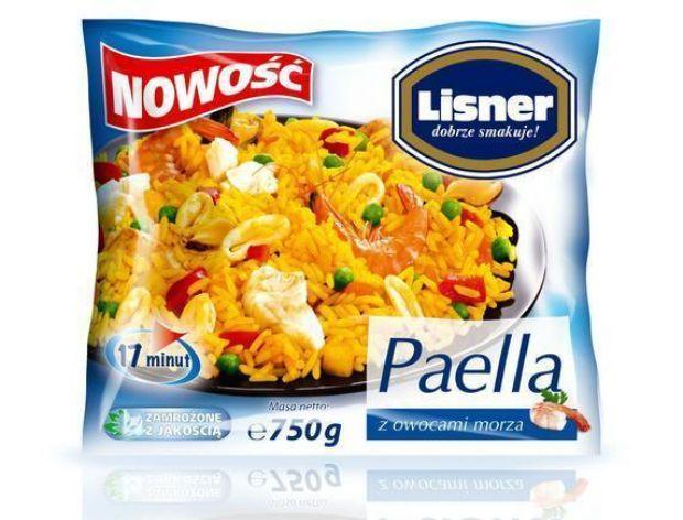 Paella z owocami morza Lisner