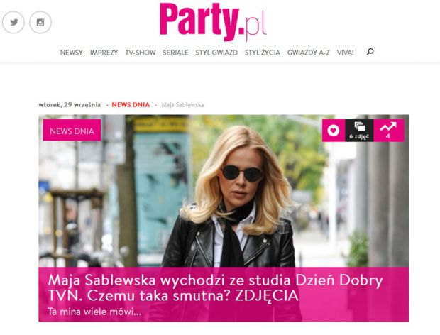 Nowy serwis dla kobiet - Party.pl