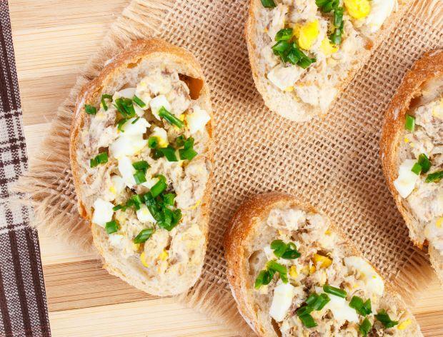 Pasta z makreli z jajkiem