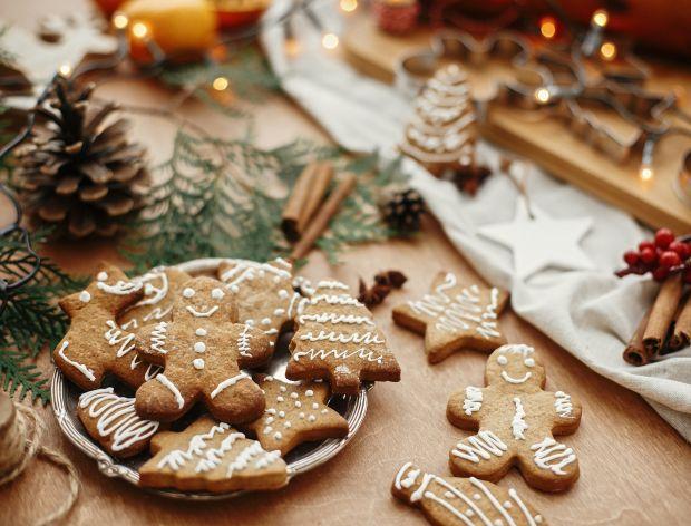 Piernikowe ciasteczka świąteczne