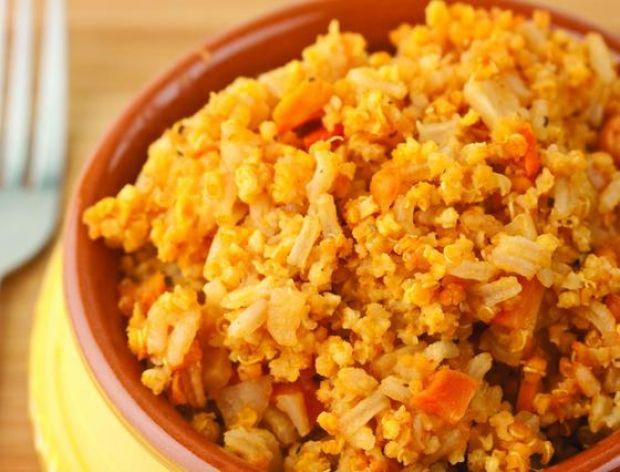 Podgrzewanie ryżu
