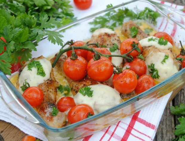 Dania z soczystymi pomidorami