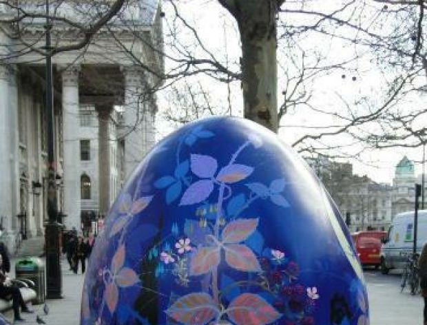 Polowanie na wielkie jaja w Londynie!