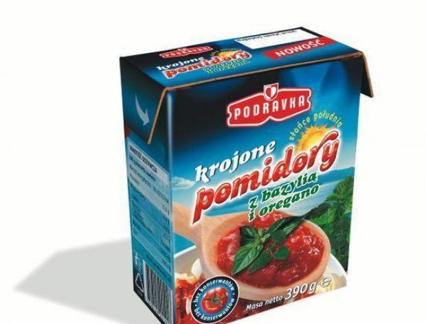 Pomidory Podravki w reklamie