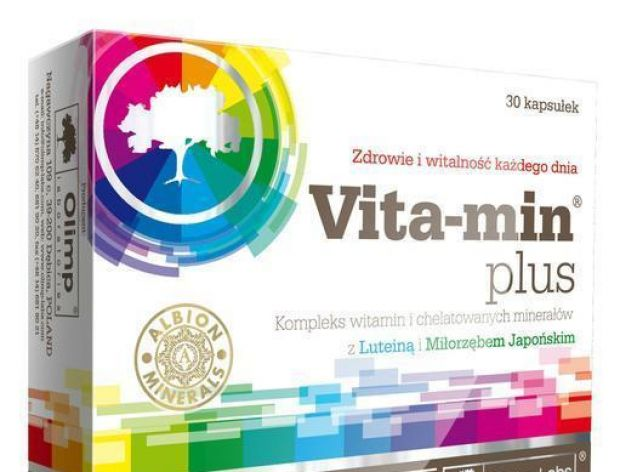Porcja witamin i minerałów dla zdrowia