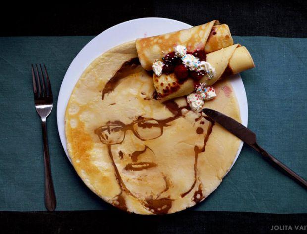 Niezwykłe portrety z jedzenia