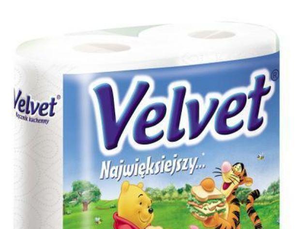 Ręczniki papierowe Velvet na Święta