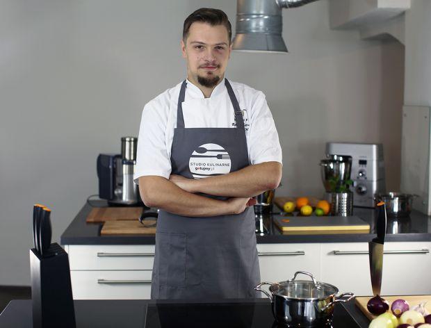 Robert Harna - szef Studia kulinarnego Gotujmy.pl