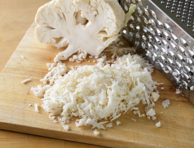 Ryż z kalafiora starty na tarce