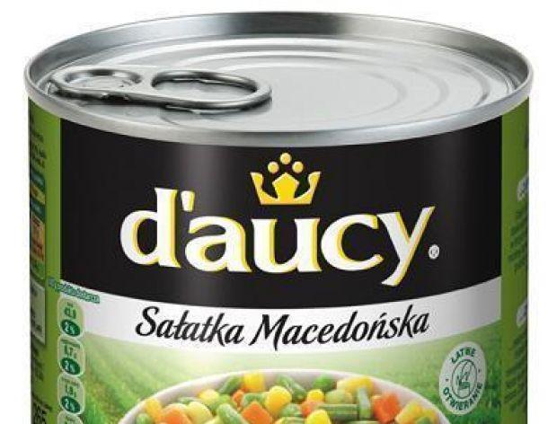 Sałatka macedońska w puszce