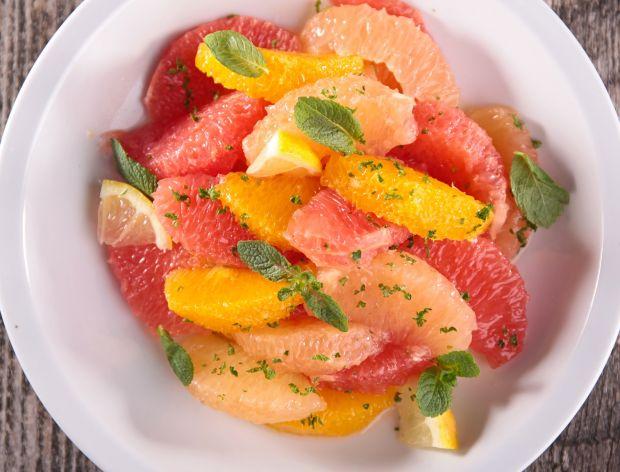 Cytrusowe sałatki