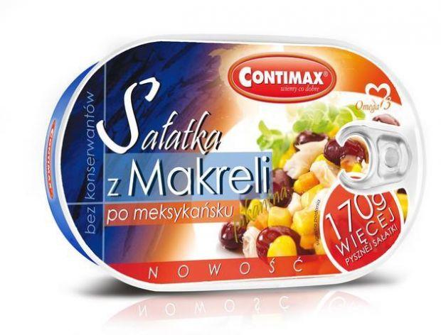 Sałatka z makreli po meksykańsku