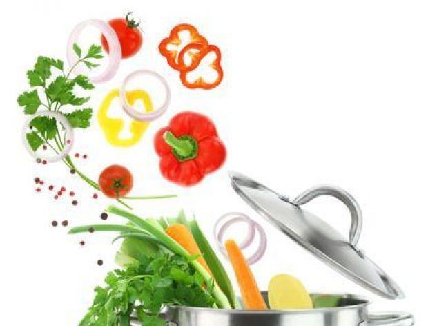 Gotowanie warzyw w dużej ilości wody
