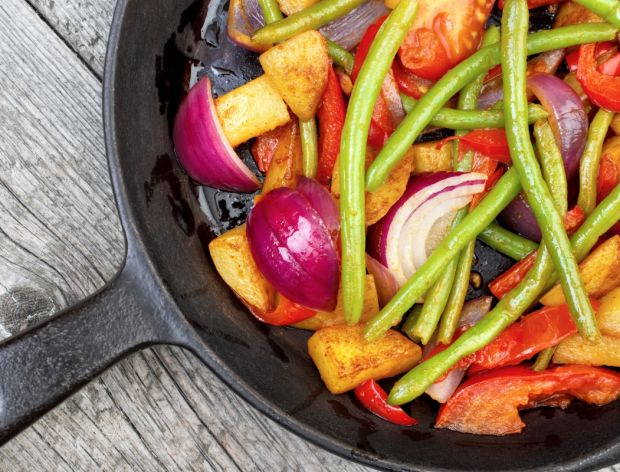 Smażone warzywa - smak i zdrowie
