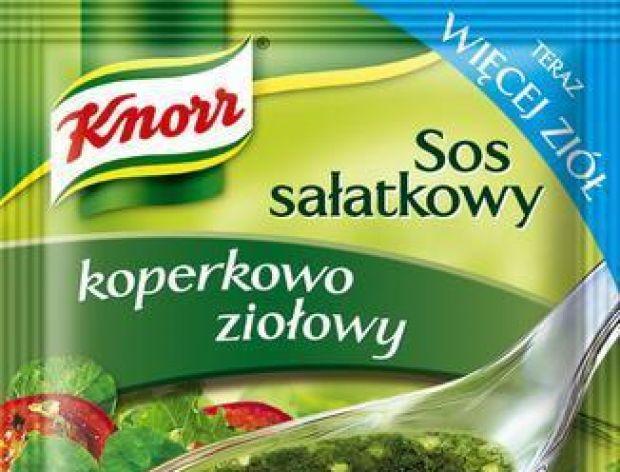 Sosy sałatkowe Knorr