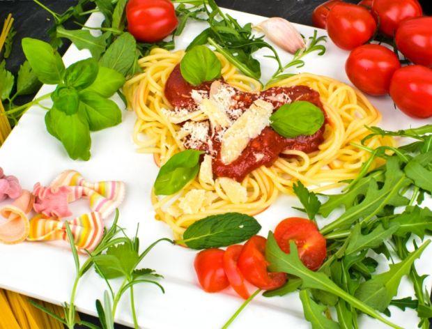 Spaghetti w kształcie serca