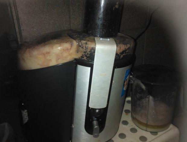 Sposób tarcia ziemniaków na placki