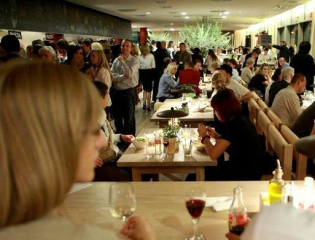 Spotkania w warszawskiej restauracji