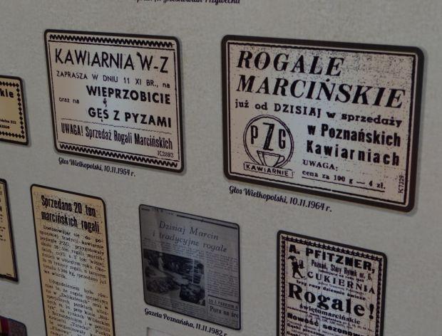 Stare reklamy rogali świętomarcińskich