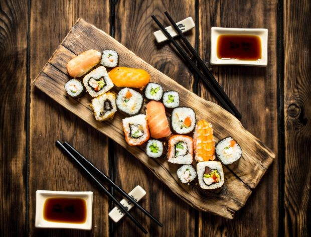 Jak zrobić sushi?