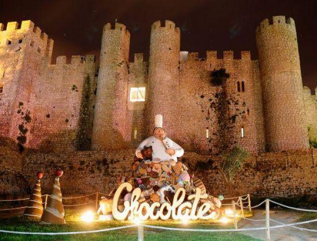 Święto czekolady w Óbidos w Portugalii
