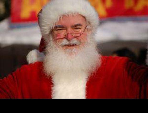 Święty Mikołaj w Auchan Bielany