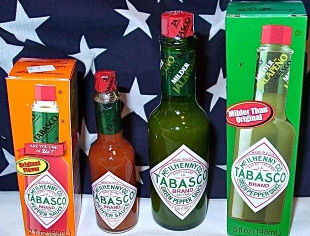 Tabasco - płynna papryka