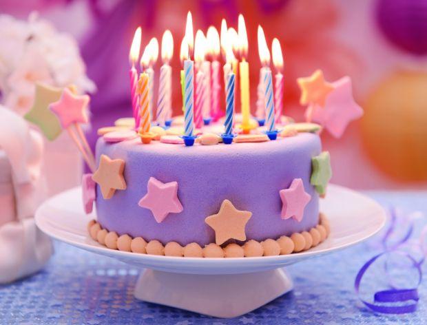 Urodzinowy tort dla dziecka