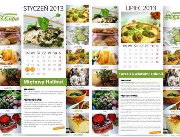 Utwórz swój kulinarny kalendarz